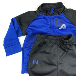 Under Armour New baby boy 2pc outfit 6-9 month